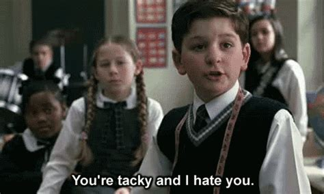 37 reasons why people love 37 piece queen bedroom set school of rock you re tacky and i hate you insult gif