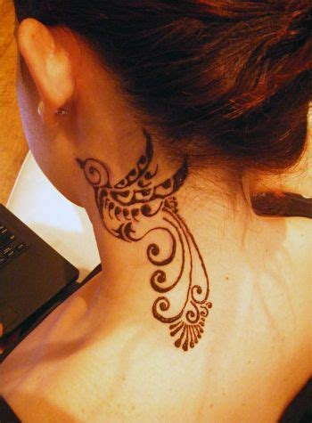 15 pretty neck tattoos for women pretty designs