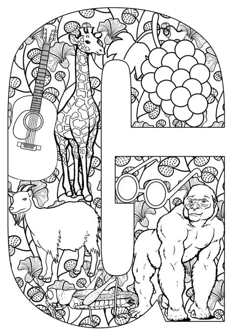 coloring pages that start with the letter m free coloring pages of things that start with w