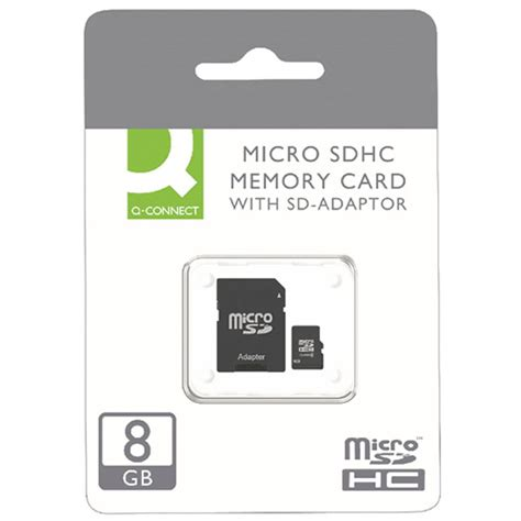 Micro Sd Card Vgen 8gb Class 10 With Adapter T3009 q connect micro sdhc card 8gb class 10 with sd adaptor kf16011 huntoffice ie