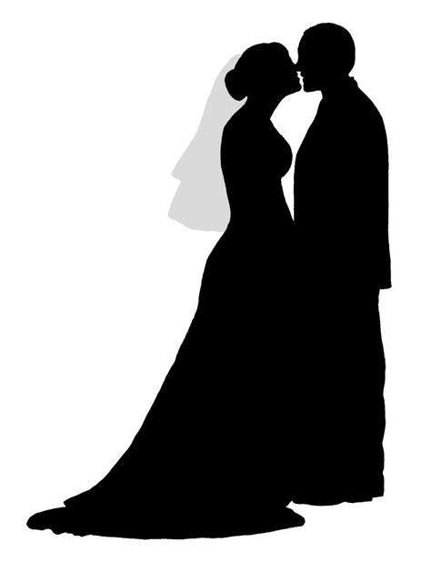 Wedding Silhouette by Greenspired Designs Wedding Silhouettes