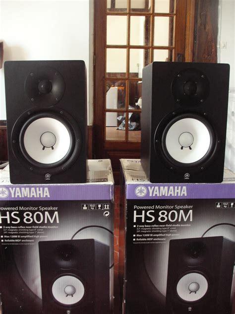 Speaker Yamaha Hs 80 yamaha hs80m image 373996 audiofanzine