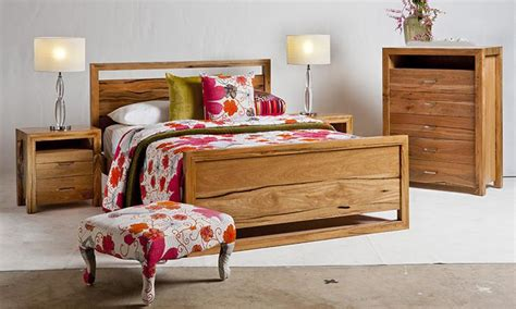 Jarrah Bedroom Furniture Alana Marri And Jarrah Or King Bed Wa Made General Furniture Homewares