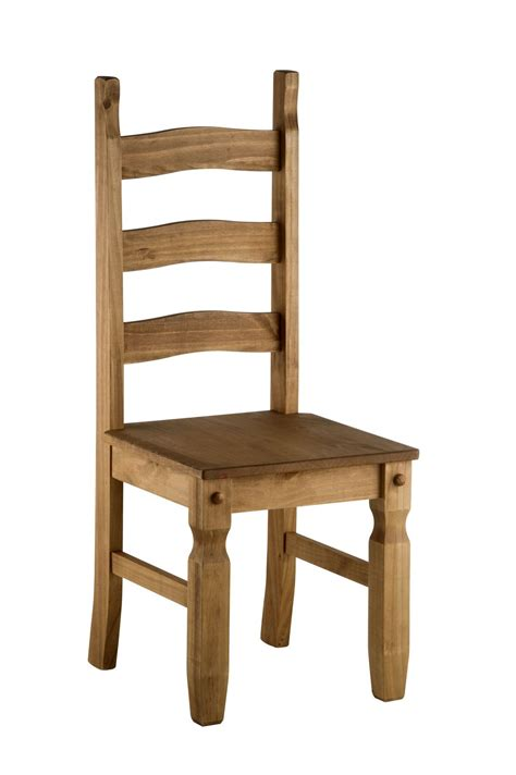 Pair Of 2 Corona Mexican Pine Solid Wood Dining Chair Ebay Mexican Dining Chairs
