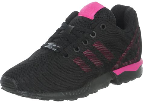 adidas zx flux   shoes black pink