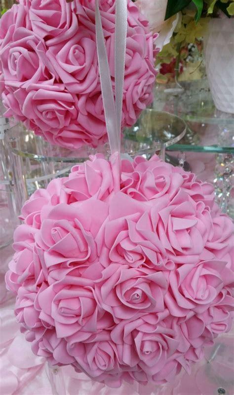 Red Kissing Balls, Pink Kissing Ball, Rose Balls, Hanging
