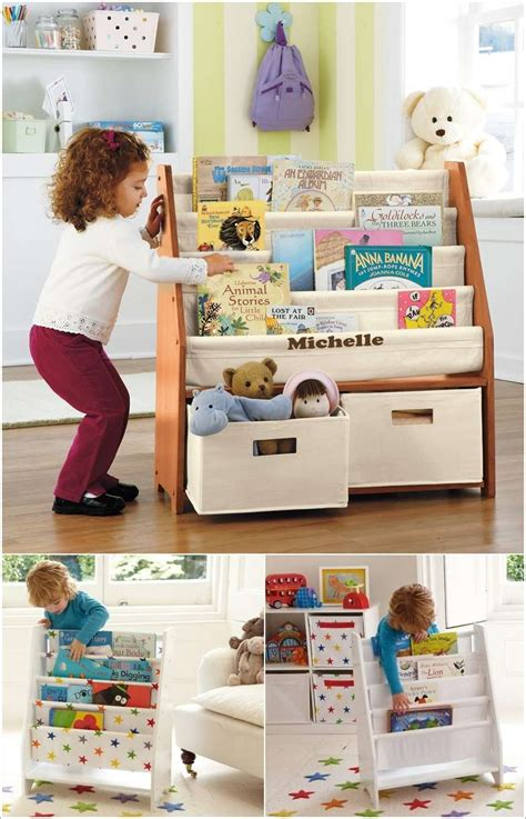 10 cool and creative kids book storage ideas corner
