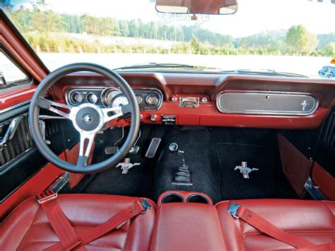 1966 Ford Mustang Interior by 0703 Mump 01 Z 1966 Ford Mustang Side View Photo 9242785