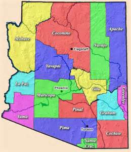 political map of arizona the general s journal my take on illegal immigration and