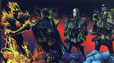 dark judges wallpaper judge mortis 2000ad comics judge dredd dark judge