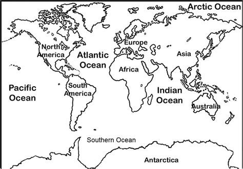 world map with country names coloring page msryan blcs geography unit
