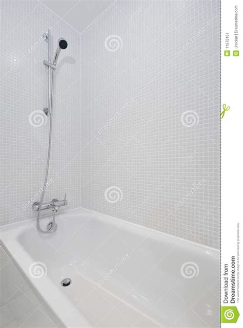 bath shower attachment bath with shower attachment royalty free stock photography image 11575167