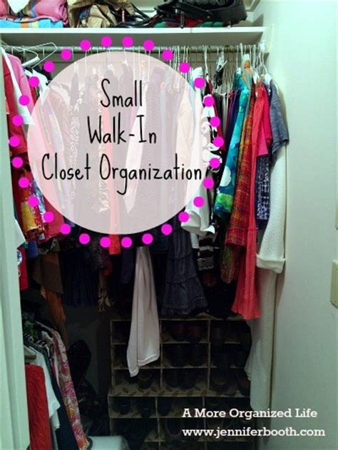 How To Organize Small Walk In Closet by Small Walk In Closet Organization Booth