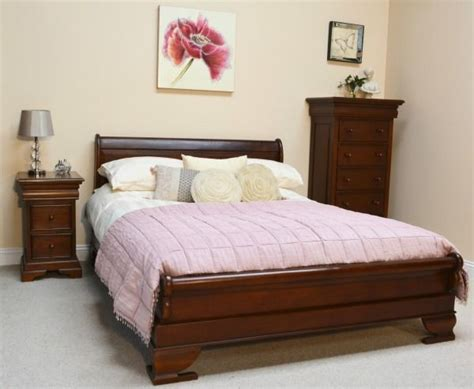 Sleigh Bed Low Footboard by Sleigh Bed With Low Footboard
