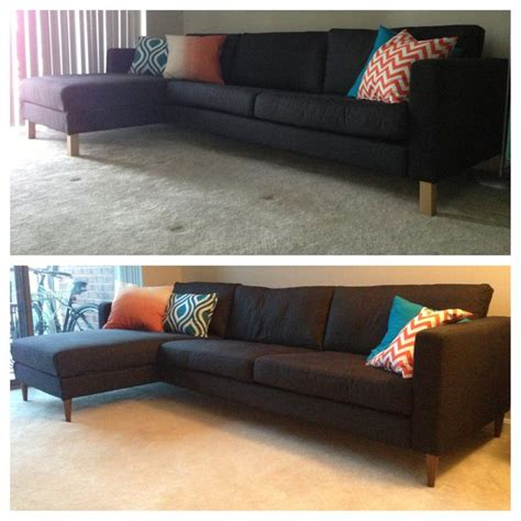 sofa legs ikea karlstad by unclebobsworkshop on etsy pin by meghan burrows on diy pinterest