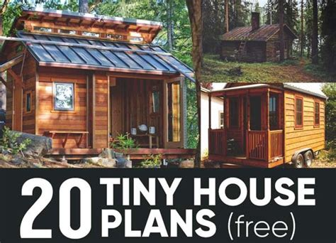 tiny houses plans free 20 free diy tiny house plans you can build by yourself