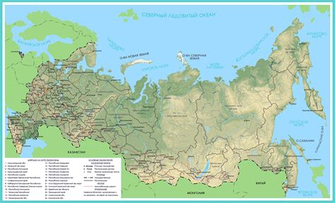 map of russia with cities and countries russia map with major cities