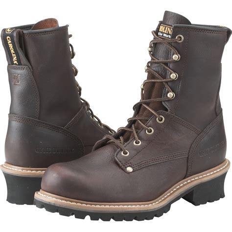 carolina boot carolina s logger boot 8in size 14 brown model