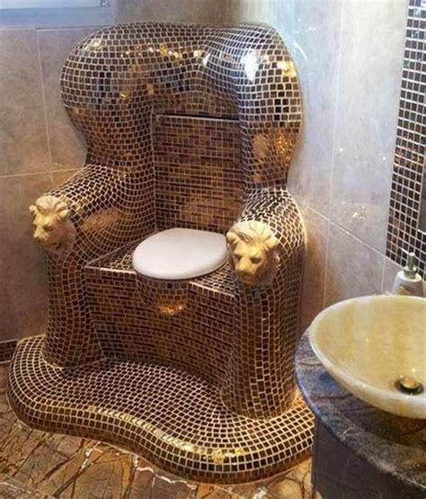 Cing Toilet Design by Mozaic Toilet Fit For A King Or Queen Via I Love Creative