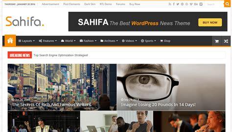 sahifa theme review sahifa responsive ads ready wordpress theme ad nets review
