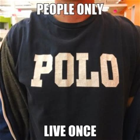 Meme Polo - daily observations as memes the zarf
