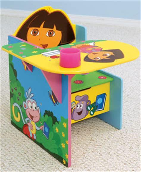 dora the explorer toddler desk chair girls pink bedroom dora the explorer chair desk by delta children s table