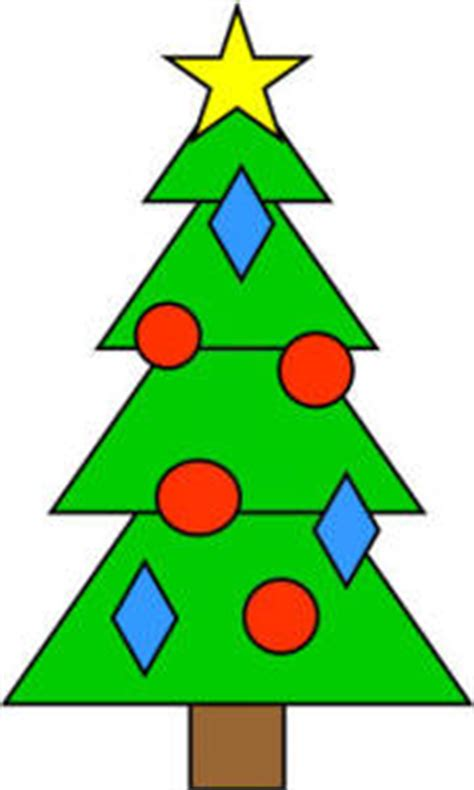 how to shape a christmas tree tree shapes practice craft