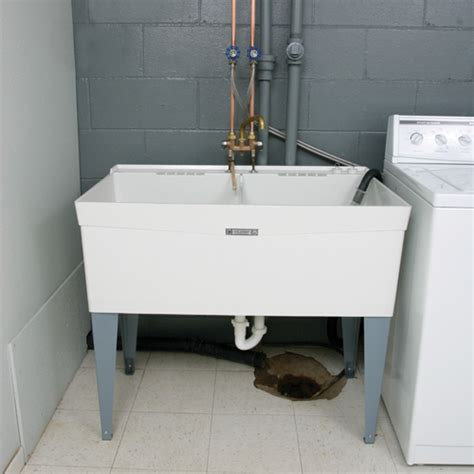 how to install a utility sink laundry sinks faucets north county plumbing palm beach