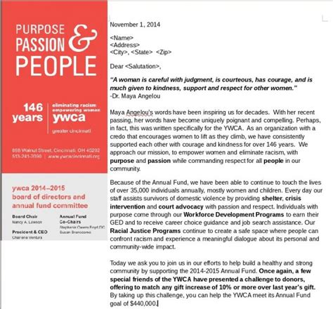 Fundraising Appeal Letter Exles Piedmont Foundation Matching Gift Confirmation Email Fundraising Appeal Letters To Grab