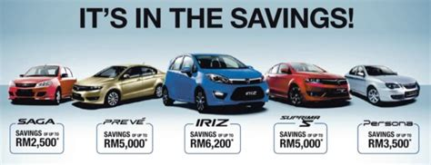 promotion proton proton rebate promo 5 models up to rm6 2k