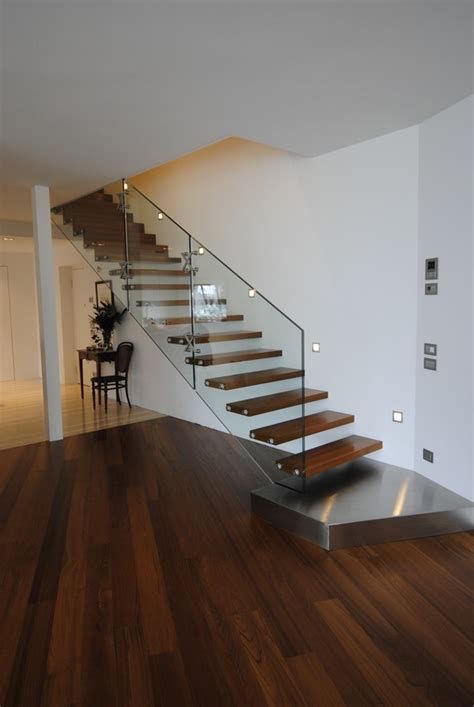 Contemporary Stairs | 18 select ideas for modern indoor stairs by christian