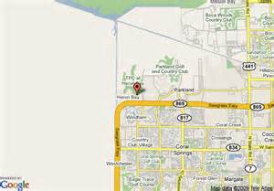 map coral springs florida map of coral springs marriott golf club and convention