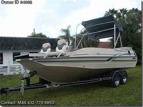 used tracker deck boats for sale 2001 tracker party deck used boats for sale by owners