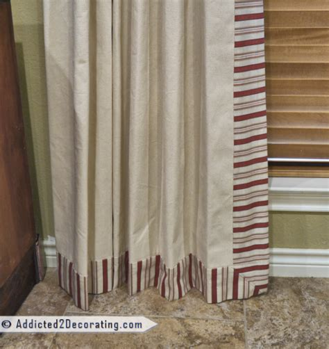 pleated curtains diy diy pinch pleated lined draperies with two accent fabrics