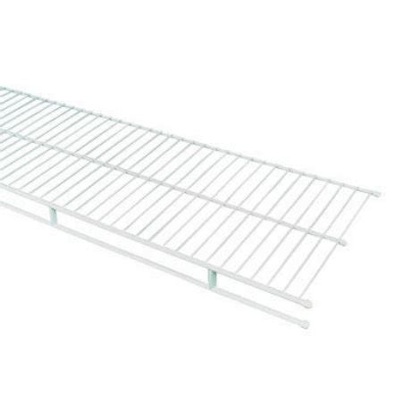 closetmaid 8 ft shelf rod wire shelf by closetmaid at