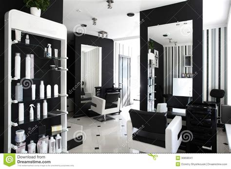 Home Hair Salon Decorating Ideas by Interior Of Modern Beauty Salon Stock Image Image 30858041