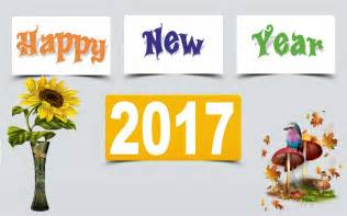 beautiful happy new year 2017 wishes greeting card