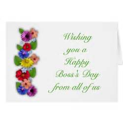 happy s day from all of us with flowers card zazzle
