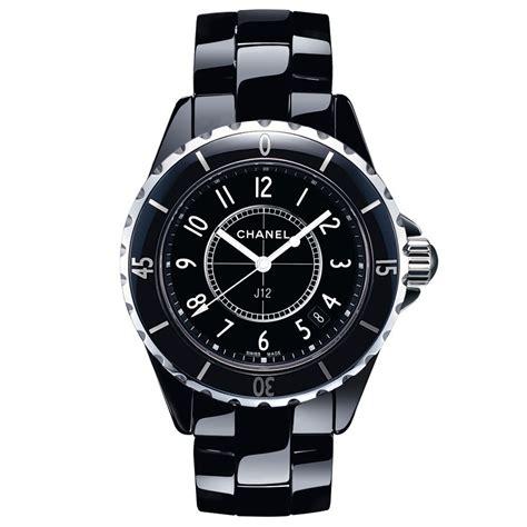 Montre Chanel J12 quartz céramique noire 33 mm H0682   Lepage