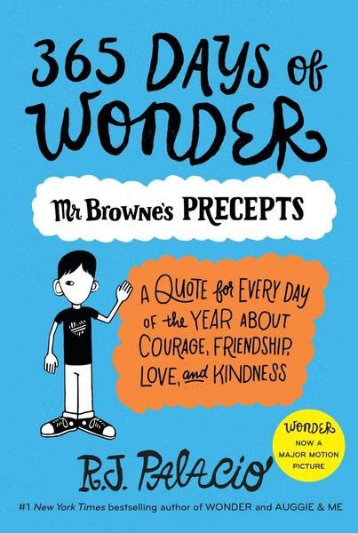 365 days of wonder 365 days of wonder mr browne s book of precepts von r j palacio ebook thalia