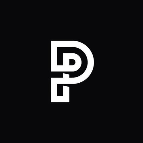 design a monogram logo alfabet letters logo zwartwit cart 227 o pinterest