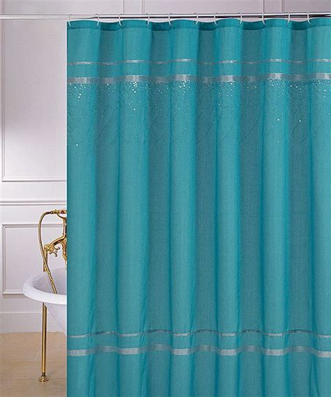 shower curtain with sequins turquoise sequin glen shower curtain