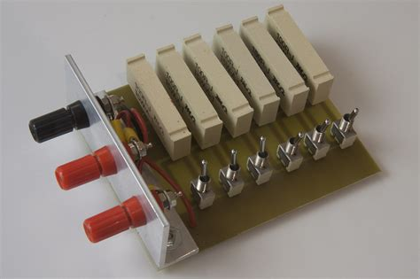 resistors dummy load simple resistor based dummy load soldernerd