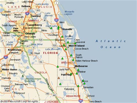 Brevard County Fl Records Usgs Water Resources Of The United States