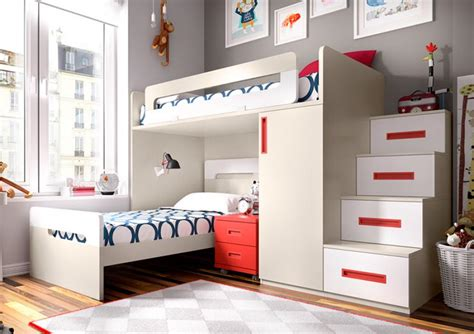 stylish bunk beds modular child to teens furniture