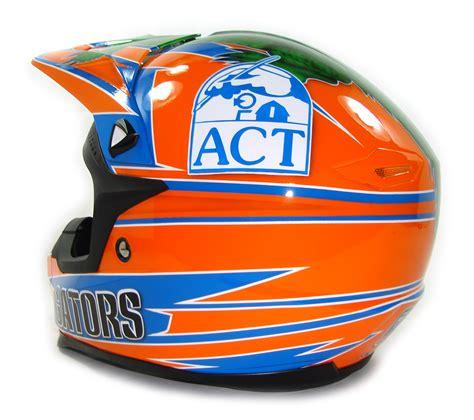custom painted helmet gallery florida gators helmet