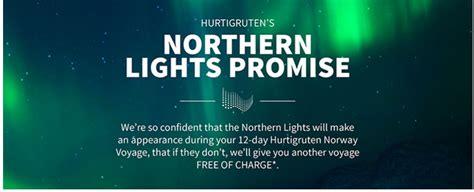 hurtigruten excursions northern lights amazing northern lights promise from hurtigruten and