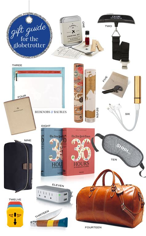 Haute Gift Guide For The Glamorous Globetrotter by Gift Guide The Globetrotter