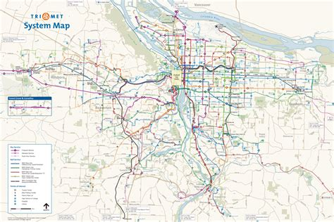portland trimet transit system map keeping portland
