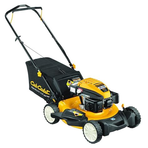 cub cadet 21 in 159cc 3 in 1 walk gas push mower
